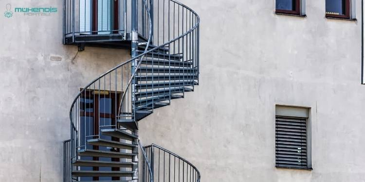 Dairesel Yangın Merdivenleri