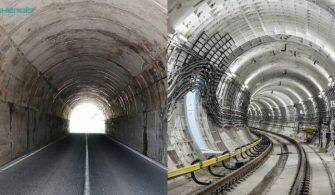 Tünel Projelerinin Teknik Özellikleri