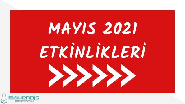Mayıs 2021 etkinlik kongre konferans